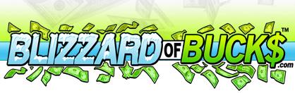 Blizzard Of Bucks National Cash Cube Money Machine Sales